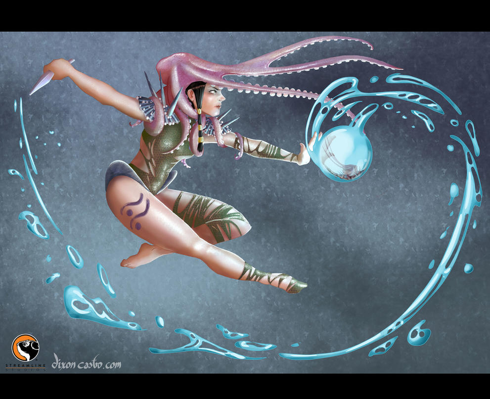 Sea Warrior by dixcast