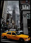 New York Cab by Murphoto