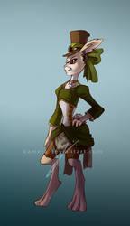 Steampunk Bunny by Kameia