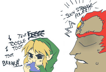 OoT: What if Link Was a Bad Player by LightsintheSkye