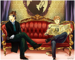 Sherlock Commission by LightsintheSkye