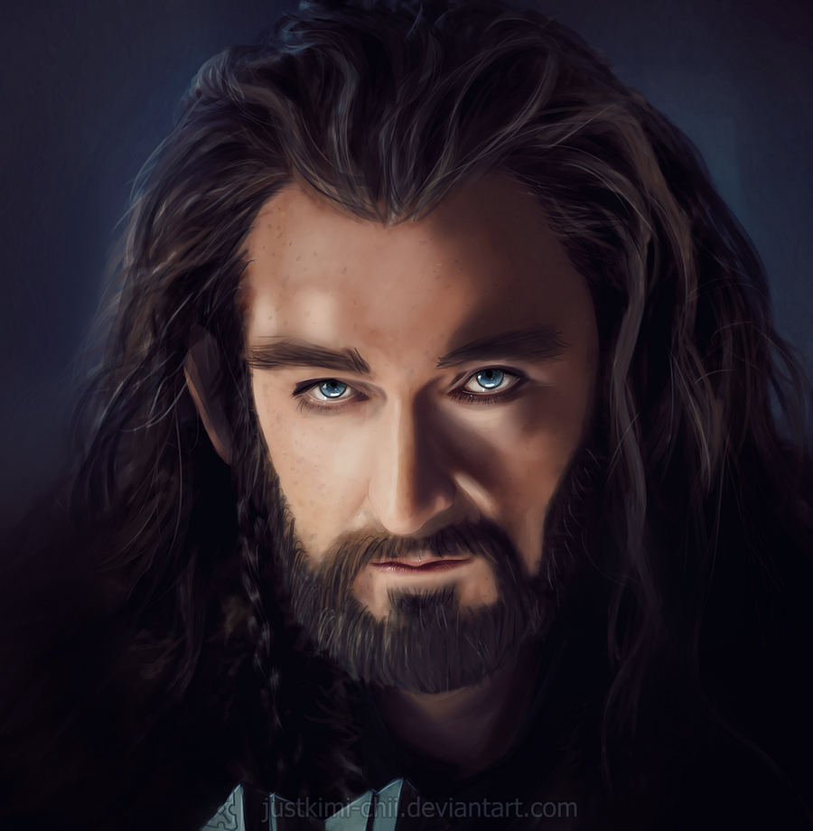 Thorin Oakenshield - digipaint by Kimi-Kiiro