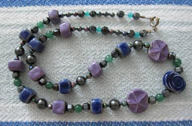 Purple and Blue Raku by zj-1997