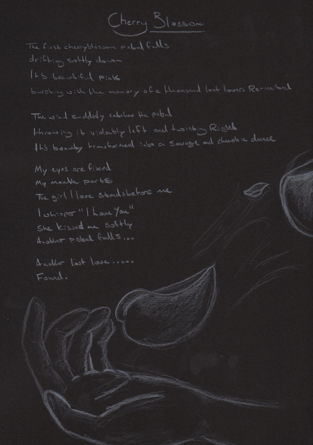 Cherry Blossom Poem by bookabooka