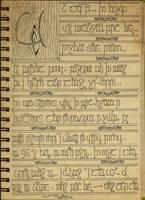 New ID Elvish Poem by bookabooka