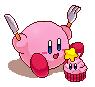 [Pixel] Kirby's cupcake