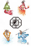 Bagua Shao Brothers Tattoo Version N.1 by DragonBellum92-DP