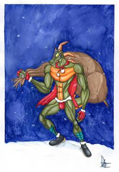 Gift - Reptile Claus