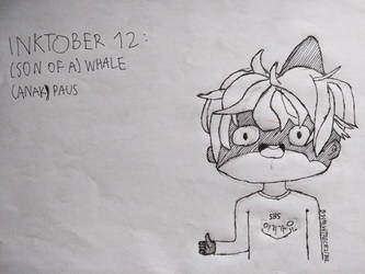 [BnHA Inktober 2018] Day 12 - (Son of a) Whale
