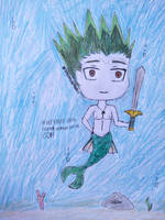 [Mermay 2019] Week 4: Merman Special: Gon by MrLoncengKelinci