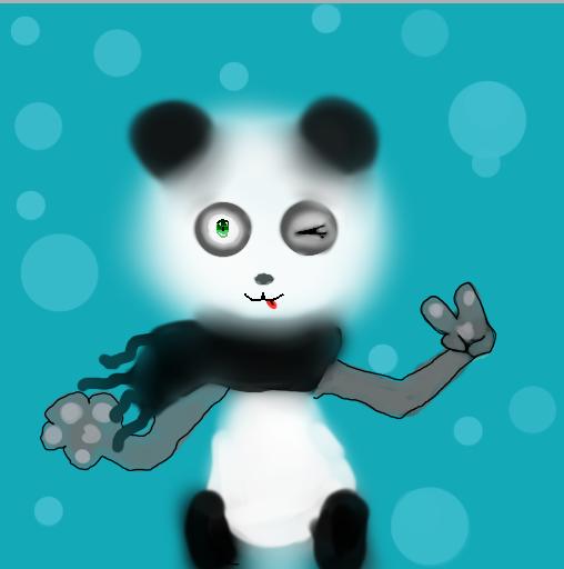Panda peace by Jadedapril