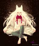 Youko Kurama and Minamino Shuichi by glitterspacebunny
