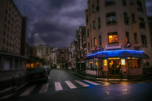 Paris - cold outside