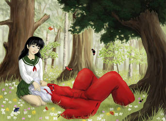 Among Butterflies by Shizuka-no-Ame