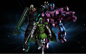 UMVC3 Team Wallpapers: Nemesis, Doom, and Sentinel by bxb-minamimoto