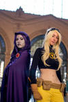 Raven - Terra : Teen Titans