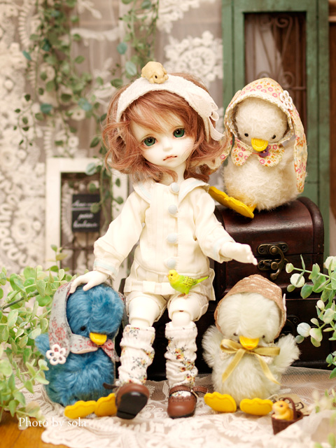 Nysa and ducks by solalis1226