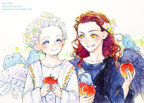 Aziraphale and Crawley