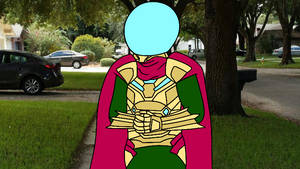 You know Mysterio had to do it to em