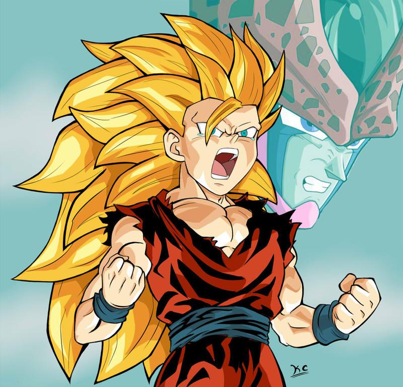 Goku vs teen gohan
