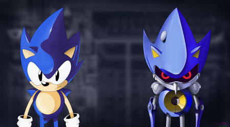 Sonic and Metal by Mitenro