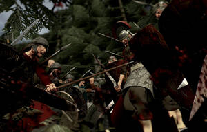 Battle of the Teutoburg Forest - 9 AD by tigerfaceswe
