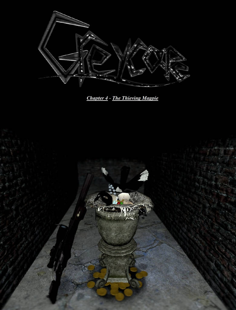 Greycape: Chapter 4 - The Thieving Magpie (Cover)