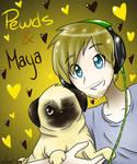 Pewds and Maya