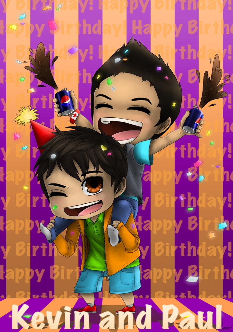 Happy Birthday Kevin and Paul! by Animorphs1