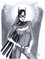 Batgirl by artofaxis