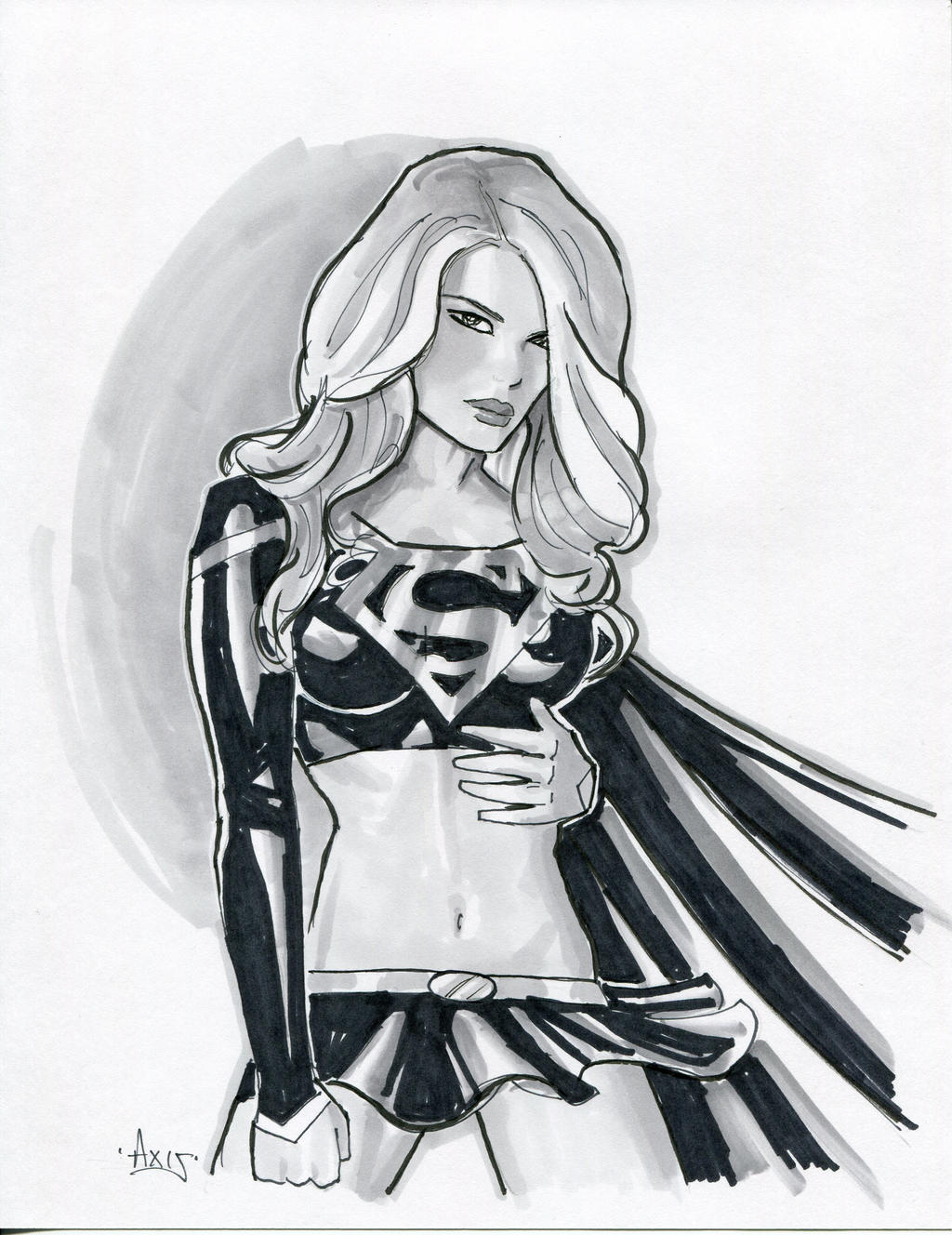 dark supergirl wallpaper - photo #41