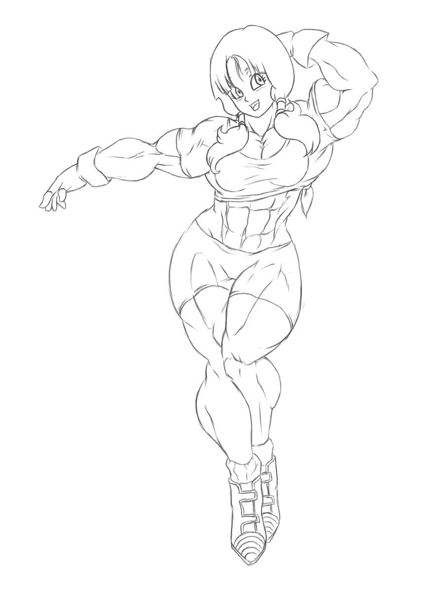 muscle videl by kyptova