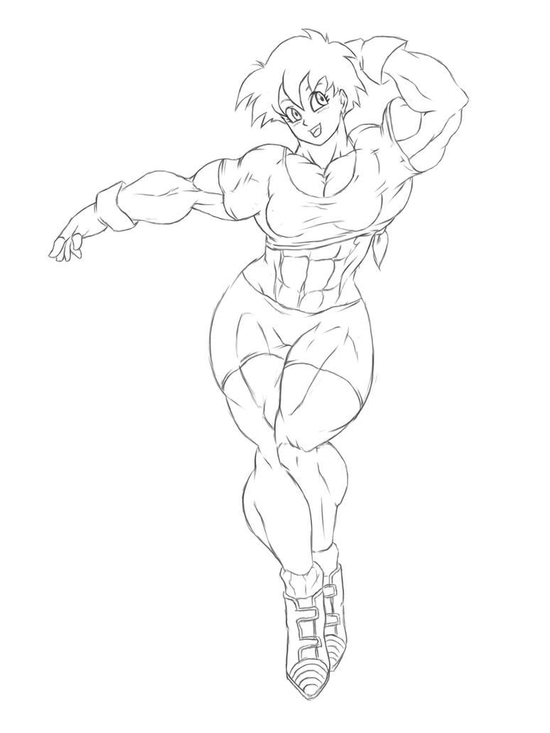 muscle videl 2 by kyptova