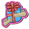 Wyngro Sticker - Gift Giving by Wyngrew