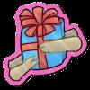Wyngro Sticker - Gift Giving by Wyngrew