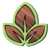 Wyngro Sticker - Basic Earth Magic Sticker by Wyngrew