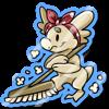 Wyngro Sticker - Spring Cleaning by Wyngrew