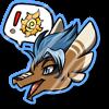 Wyngro Sticker - Special Visitor by Wyngrew