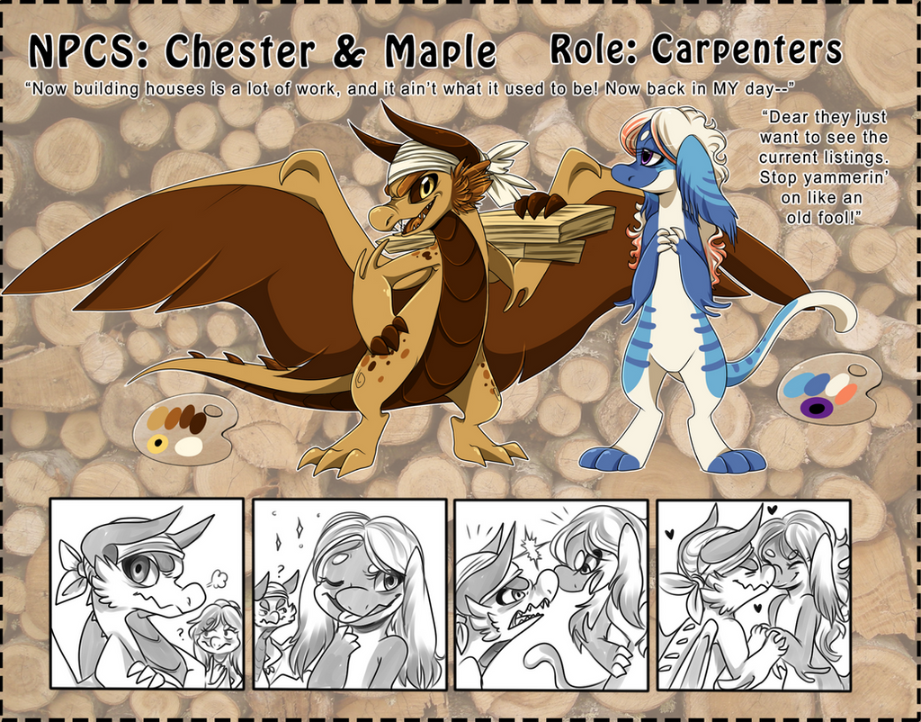 NPC: Chester and Maple