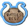 Wyngro Sticker - The Rattle's Rest by Wyngrew