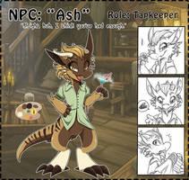 NPC: Ash by Wyngrew