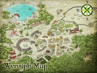 Wynsiph Map by Wyngrew