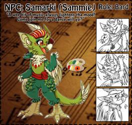 NPC: Sammie by Wyngrew