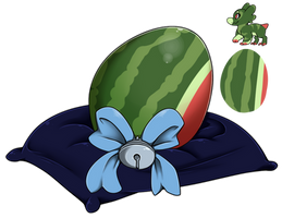 Eggy Raffle 2017 #2 - Watermelooon by Wyngrew