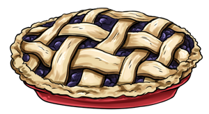 Alma's Famous Bleckuberry Pie