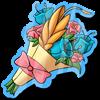 Wyngro Sticker - Bouquet by Wyngrew