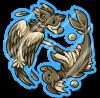 Wyngro Sticker - Birdgro! Fishgro! by Wyngrew