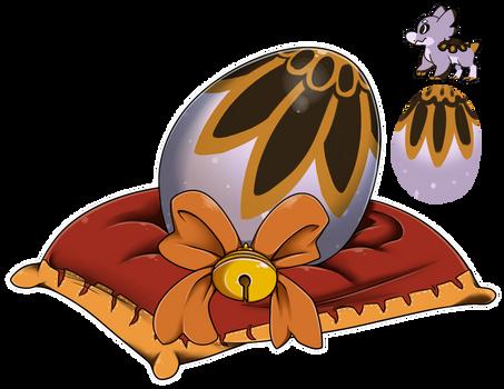 Egg Raffle 2018 #9 - Turtledove