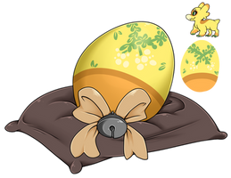 Egg Raffle 2018 #4 - Stubbed Mistletoe