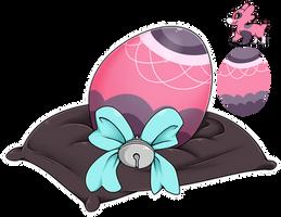 Egg Raffle 2018 #11 - Pink Lacy